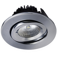 Juno COB LED Downlight 8W Krom IP44