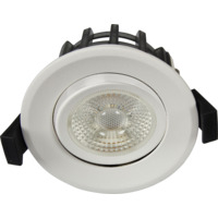 JUNO GYROCOB+ Downlight 10W Matt Hvit