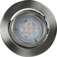 Juno LED 240V/5,3W GU10 IP23 B�rstet st�l