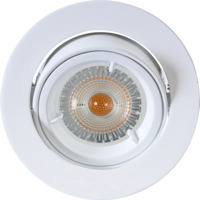 Artos LED Downlight 240V 6,5W GU10 Hvit IP23