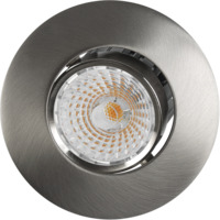 Altea LED Tilt Downlight 8W B�rstet St�l IP20