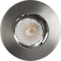 Altea Tilt LED Downlight 8W Børstet Stål IP20