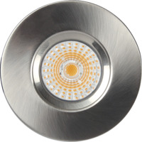 Altea Fast LED Downlight 8W Børstet Stål IP44