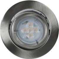Artos LED Downlight 240V 5,3W GU10 B�rstet St�l IP23