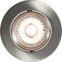 Alfa Downlight Warmdim 10W børstet stål