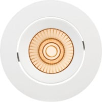 Alfa reflektor Downlight Warmdim 10W matt hvit