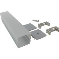 Aluminiumsprofil utenpåliggende 2m 2114