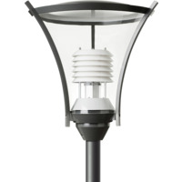 Athene Park Clear LED 830 45W DK GY/WT