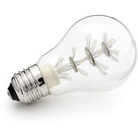 LED Normal E27 1,4W (15W) Klar 2100 Kelvin