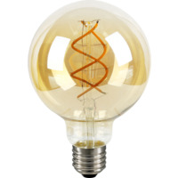 LED Filament Flex 4W Dim E27 Gyllen G95
