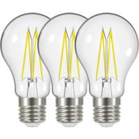 LED Pære Filament 6,7W E27 3 Pk