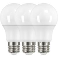 LED Pære 8,6W E27 3 Pk