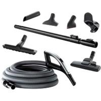 Flexit sentral.slange m/tilbeh�r 12m LED CVR
