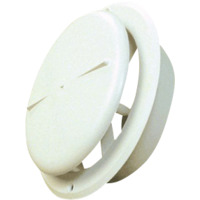 Tallerkenventil Rund Karm/Ramme Plast 4
