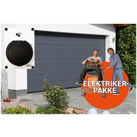 Ferdig montert garasje inntil 50 m2 m/elbillader 16A