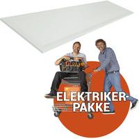 Ferdig montert LED panel - 30x120cm 3000k