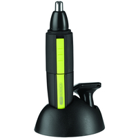 Nose Trimmer, batteri: 1 x AA, sort/gr�nn