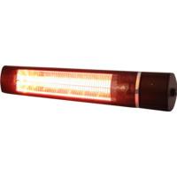 Terrassevarmer Low Glare m/Fjernkontroll 2000W Sort
