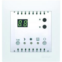 Simon Multi termostat 2 pol 10A Hvit (max 2300w)