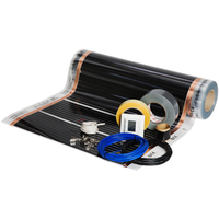 Foliekit Namron 6m2 60cm 60W/m 10m m/digital termostat