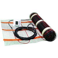 Varmekabelmatte Kit 140W/m� 1,0m� m/Termostat