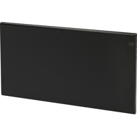 Varmeovn H30 1000w Panel Sort 77x37cm GLAMOX
