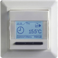 Termostat MCD4-1999H Gulv+Luft+Regulator Hvit Micro matic