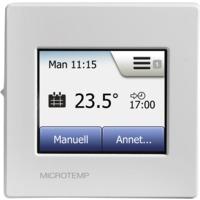Termostat MCD5-1999H med ur og touchdisplay hvit