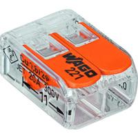 Wago 221-412 2-Leder Transparent 5stk