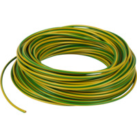 PN 4mm² Gul/Grønn Bunt 25 m