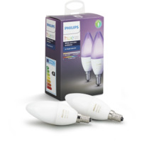 Philips Hue White and Color Ambiance 6W E14 EU 2Pack