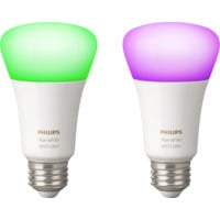 Hue White and Color Ambiance A60 E27 Retail 2Pack