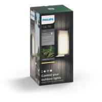 Philips Hue W Turaco Vegglampe 1x9.5W Antrasitt