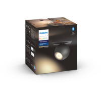 Philips Hue WA Buckram Tak/Vegglampe 5.5W Sort