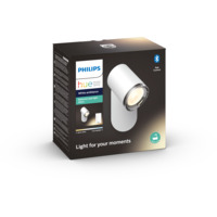 Philips Hue WA Adore Singel Spot 5.5W IP44 Hvit ink dim