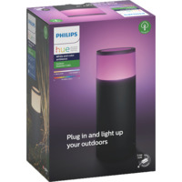 Philips Hue WCA Calla Pidestall Lav Sort Base Kit
