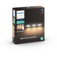 Philips Hue WA Adore Recessed Spotlight 5W 3pk Krom