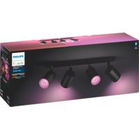 Philips Hue WCA Fugato Firedobbel Spotlight 5.7W Sort