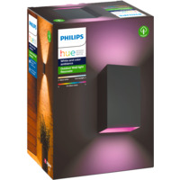 Philips Hue WCA Resonate Vegglampe 2x8W Sort