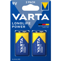 Batteri Varta High Energy 9V 2 pk