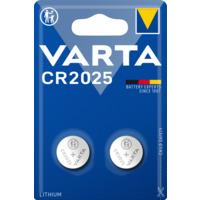 Batteri Varta CR2025 Lithium 3V 2 pk