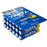 Batteri Varta High Energy LR03/AAA 18 pk