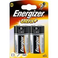 Batteri LR20 D 1,5V Alkalisk Stor 2 pakn. ENERGIZER