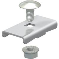 Klemstykke for montering av kabelstige til midtoppheng