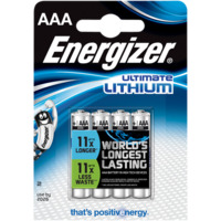 Batteri Ultimate Lithium AAA L92 4 pk Energizer