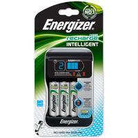 Batterilader Intelligent med 4 Stk AA 2000mah Batterier Energizer