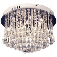 Adele taklampe krom 10x12V/10W G4