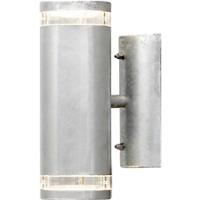 Modena Vegglampe opp/ned GU10 Galvanisert