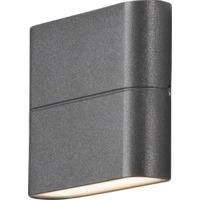Chieri Led Vegglampe 2x3W Antracit