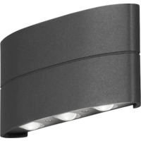 Chieri Led Vegglampe 6x1W Antracit